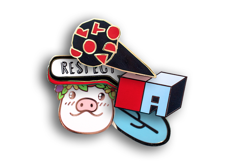 Get your Custom Hard Enamel Pins Today! | Austintrim