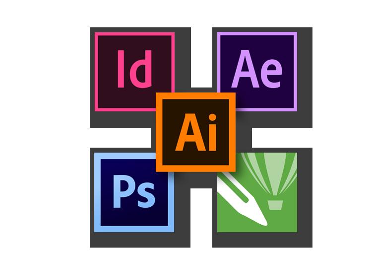 logo designing collage