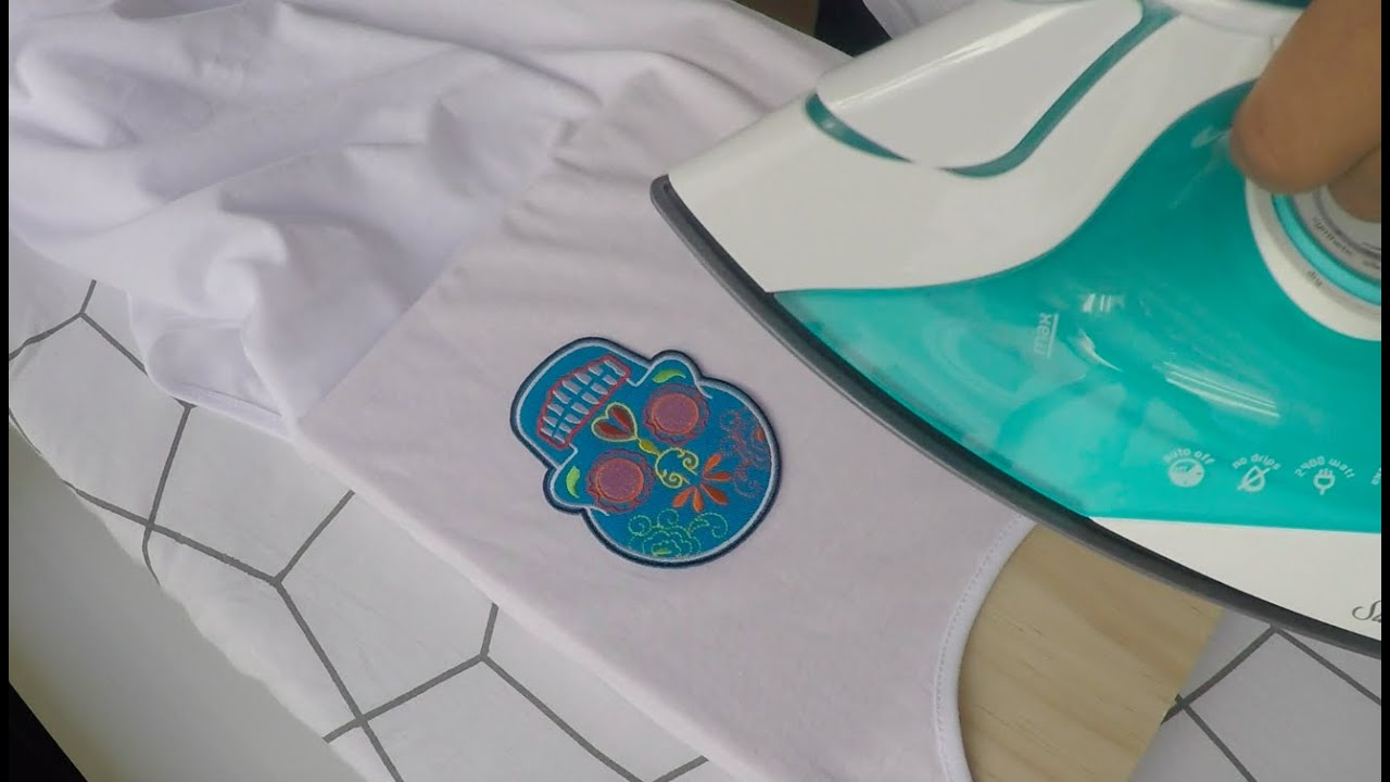 How to Iron-on Patches to any Part of Apparel