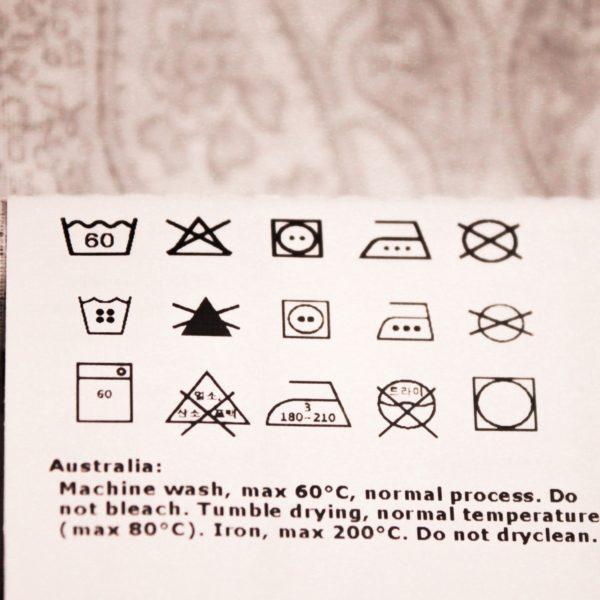 white-laundry-label