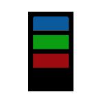 """1-3 Colors <br><p style=""""font-size: 11px;""""> PVC design for 1-3 colors</p>"""
