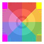 """10-12 Colors<br><p style=""""font-size: 11px;""""> Pvc design for 10-12 colors.</p>"""