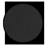 "Black ballistic nylon <br><p style=""font-size: 11px;"">Ballistic nylon is a thick, tough, <br>nylon fabric with several uses.</p>"