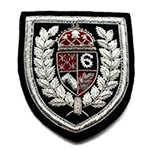 """Bullion Patch  <br><p style=""""font-size: 11px;"""">Bullion patch is individually hand-made<br> by skilled artisans. They are<br> created using a combination of<br> hand-stitched fabric.</p>"""