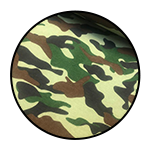 """Camouflage material <br><p style=""""font-size: 11px;"""">Camouflage material gives a unique effect to <br>the personnel or equipment by <br>making them disappear or appear as a part of<br> the natural surroundings. This material is made <br>solely from heavy cotton twill.</p>"""